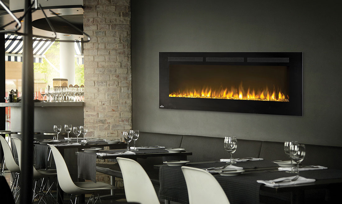 Fireplace Design wall fireplaces : Napoleon Allure 50 Electric Fireplace | NEFL50FH