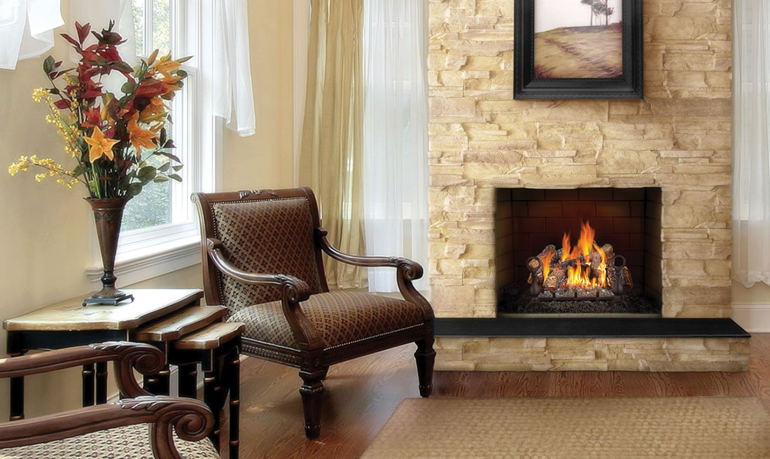 24 vented napoleon fireplaces