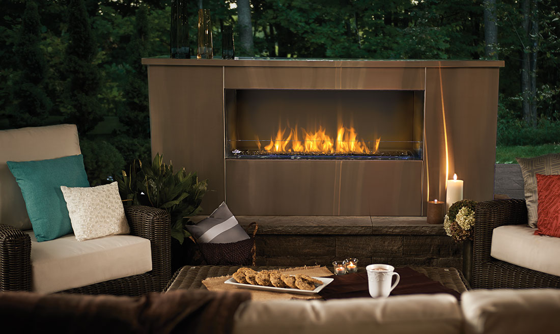 Extend the time your family spends in the backyard with Outdoor Fireplaces. Find out how to choose the Napoleon outdoor fireplace that is right for you.