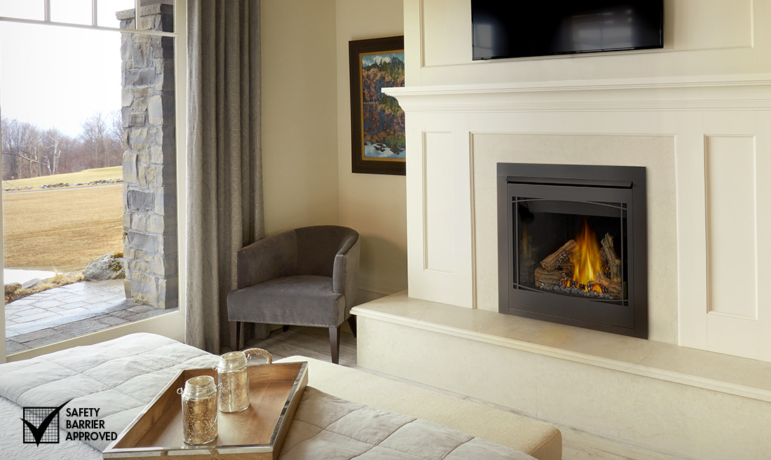 Having your gas fireplace inspected annually is very important