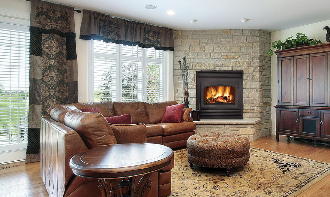 Corner Fireplaces Create Amazing Modern Hearth