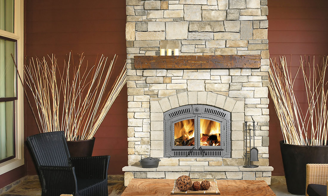 dimensions of a gas fireplace