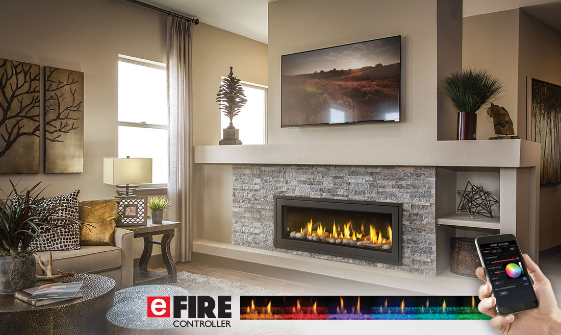Napoleon Vector 50 Gas Fireplace LV50