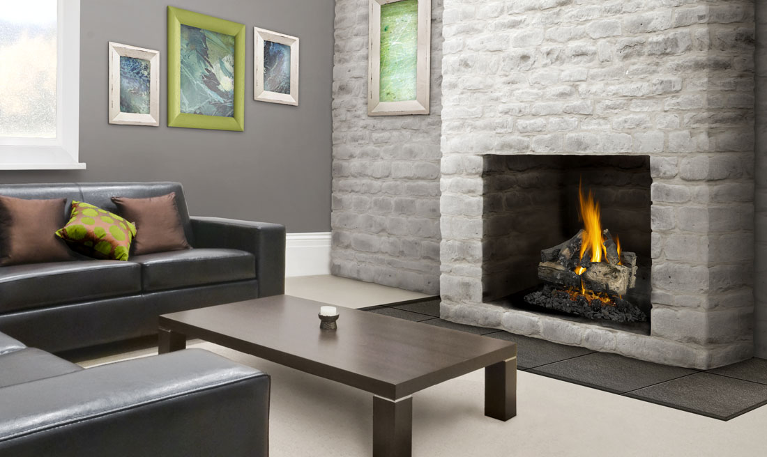 22 vented napoleon fireplaces - Napoleon Verso 22 Gas Log Set GL22