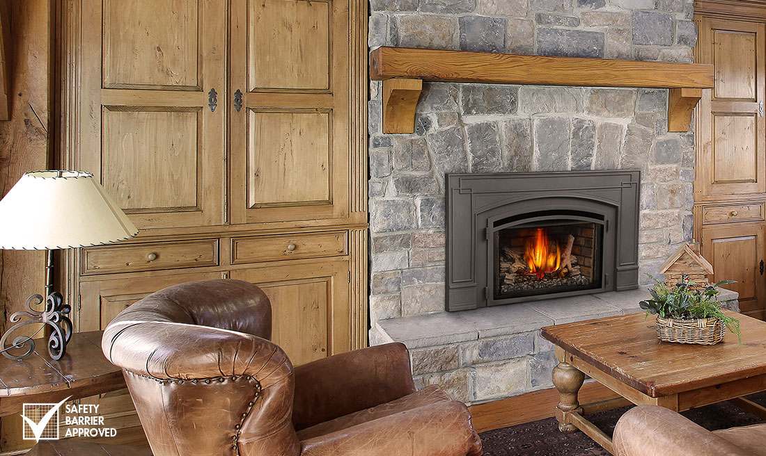Fireplace Design gas insert fireplace installation : Fireplaces and Fireplace Inserts - What is the difference?
