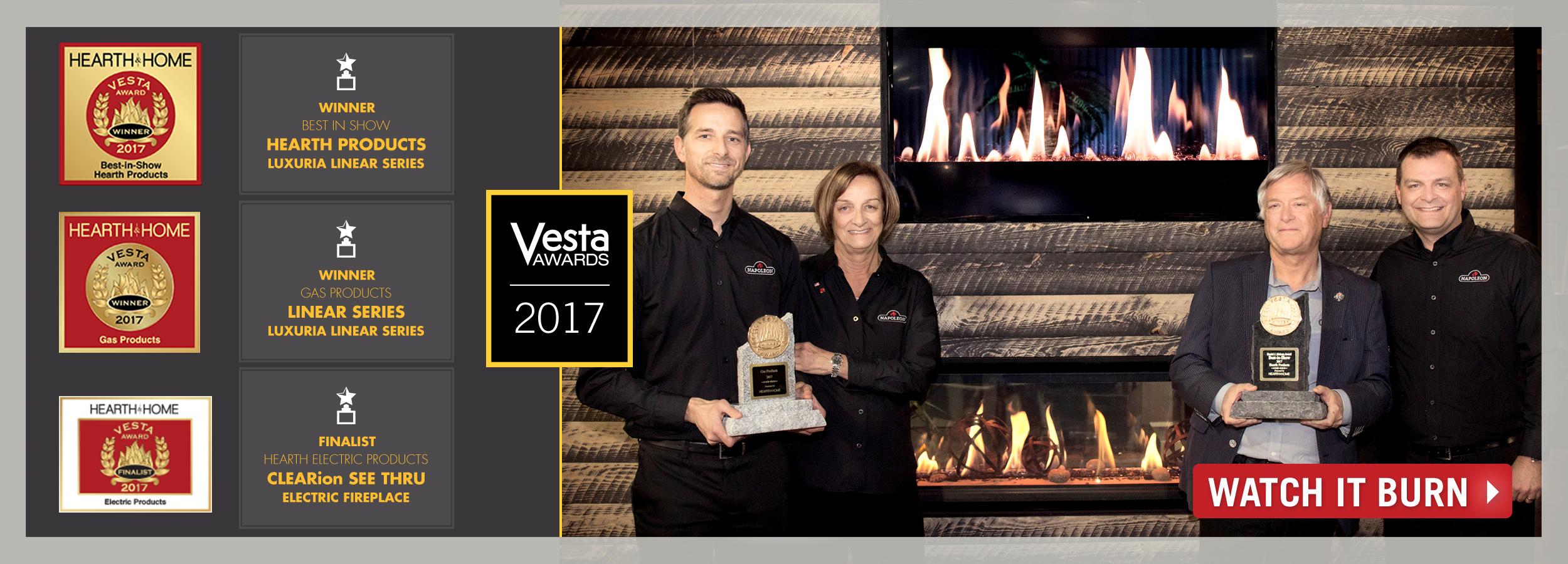 Vesta Award Winner Slide Image