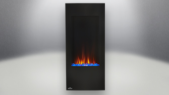 Napoleon Azure vertical 38 fireplace