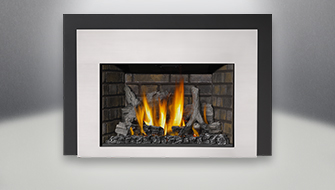 Infrared 3 Gas Fireplace Insert  Small Gas Fireplace Insert