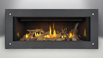 Napoleon Vector LHD45 fireplace product shot