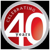 Napoleon 40 year logo