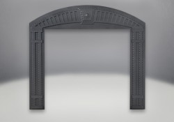 Decorative Arched Surround - Wrought Iron
