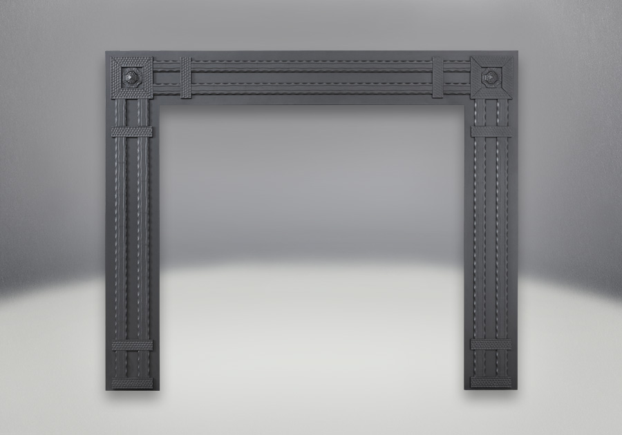 Decorative Rectangular Surround - Wrought Iron