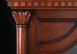 Solid Hand Carved Columns