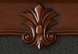 Solid wood, hand carved ornament