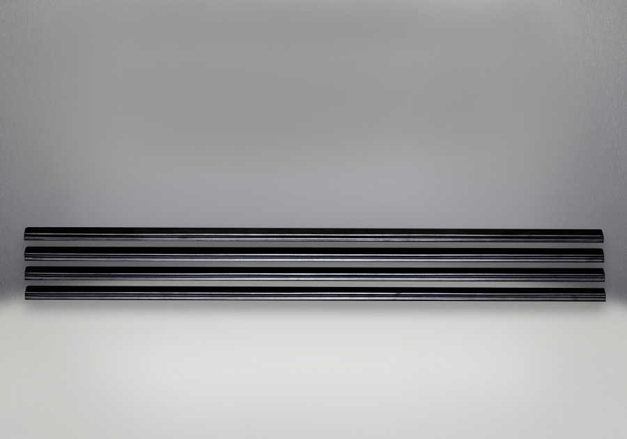 Louvres - Black Finish