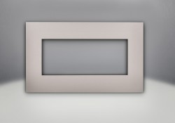 Brushed Nickel Faceplate