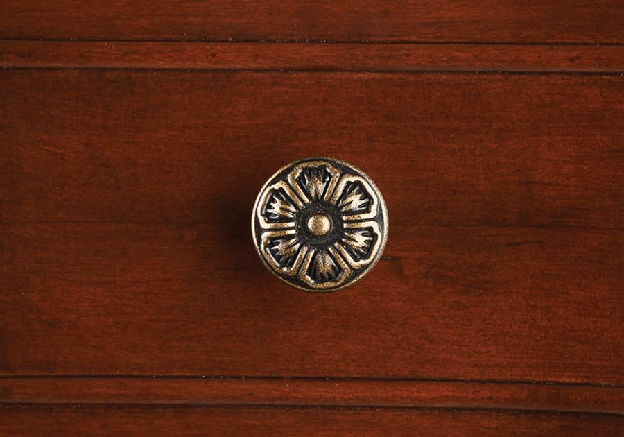Distressed Brass Knobs