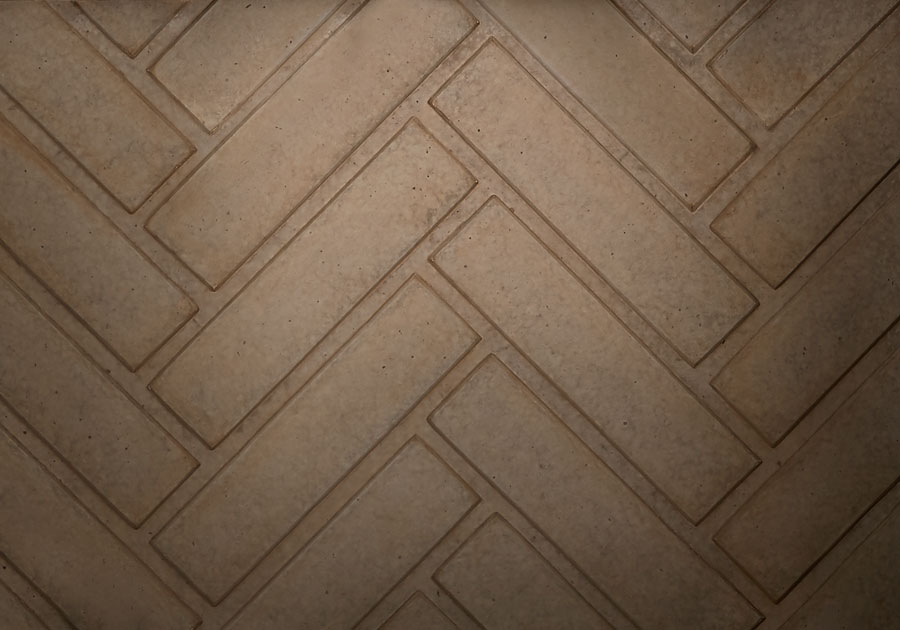 Herringbone Decorative Brick Panels