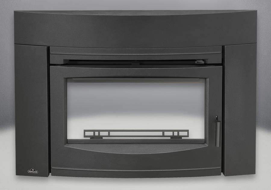 Contemporary Front Painted Black Finish (EPI3C)
