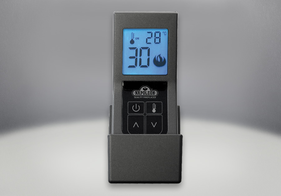 F60 Remote Control Adjusts Heat and On/Off