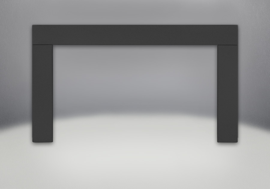 Contemporary Trim Kit - Painted Black Finish