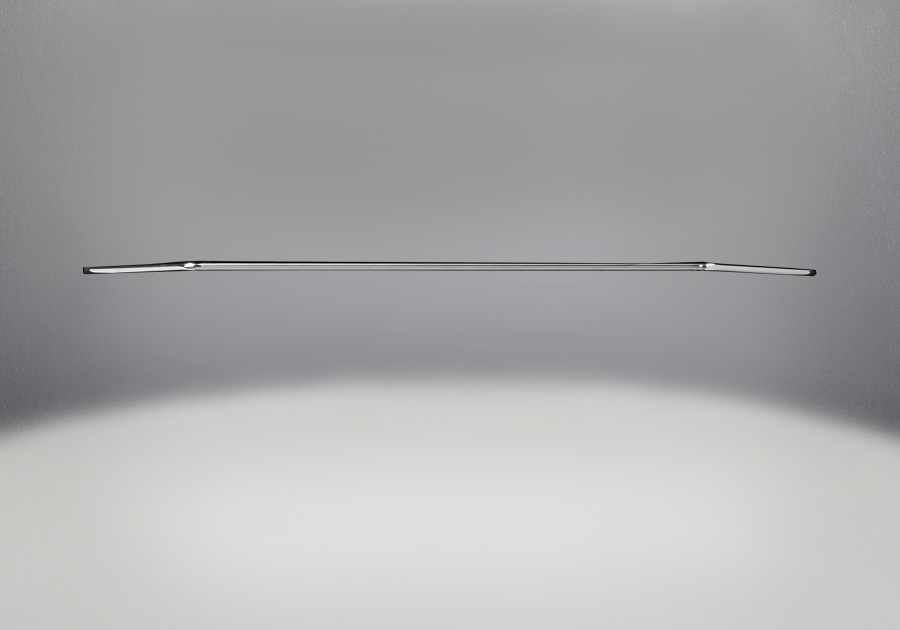 Accent Bar Satin Chrome Plated Finish