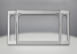 Satin Chrome Plated Finish