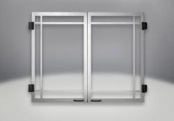 Decorative Door Brushed Stainless Steel (Standard)