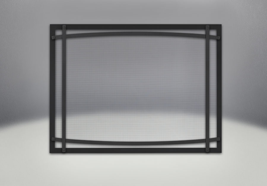 Classic Resolution front shown in black with black curved accent bars, complete with safety barrier