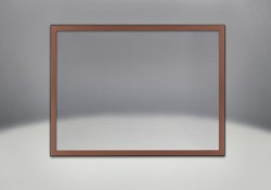 Classic Resolution front shown with overlay in brushed copper, complete with safety barrier