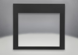 Four-Sided Frame Painted Black