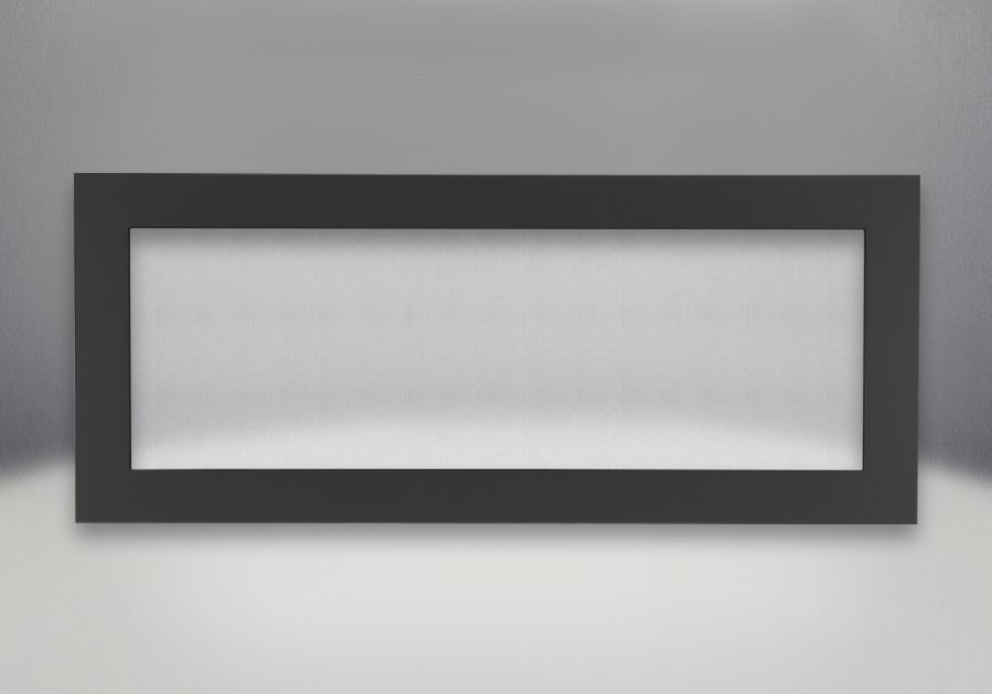 Basic Four-Sided Surround Painted Flat Black With Safety Barrier