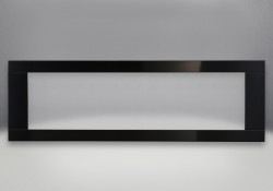 Deluxe 4-Sided Surround With Safety Barrier– Painted Gloss Black Finish, With Safety Barrier
