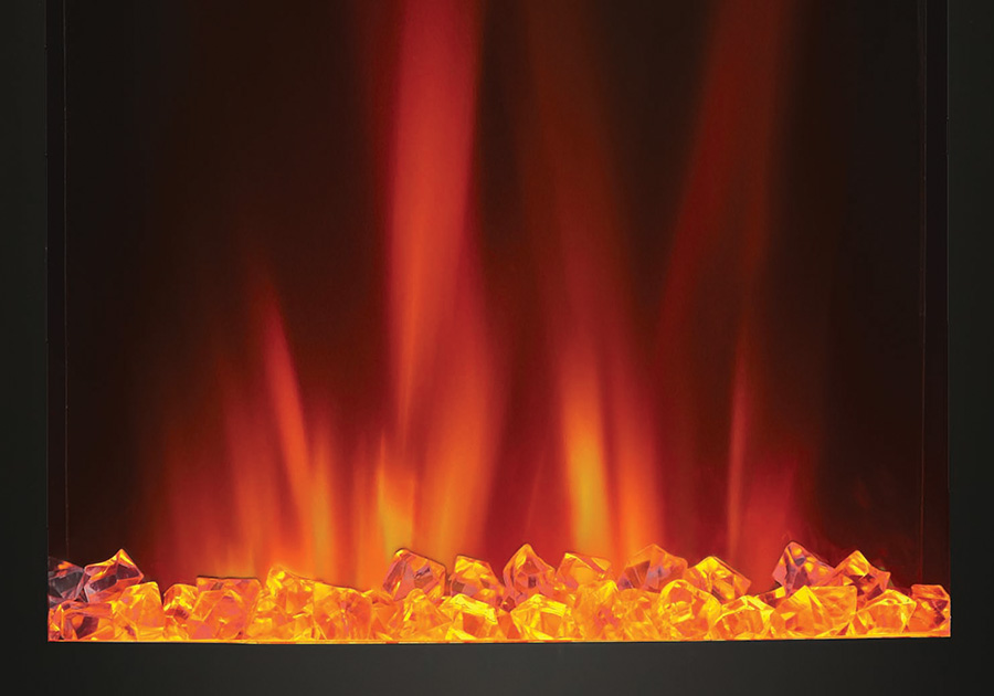 CRYSTALINE<sup>™</sup> Ember Bed - Orange
