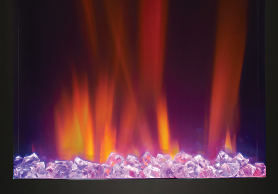 CRYSTALINE<sup>™</sup> Ember Bed - Purple