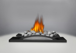 Grey River Rocks for Fire Cradle
