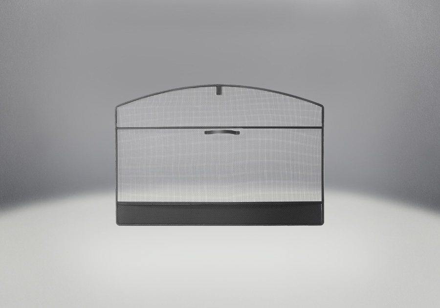 Arched Screen Kit Painted Black Finish