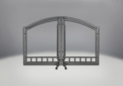 Arched Wrought Iron Door