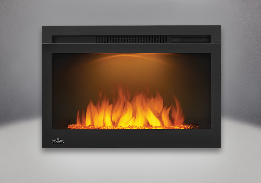 Comes with the Cinema<sup>™</sup> Glass  27 Electric Fireplace