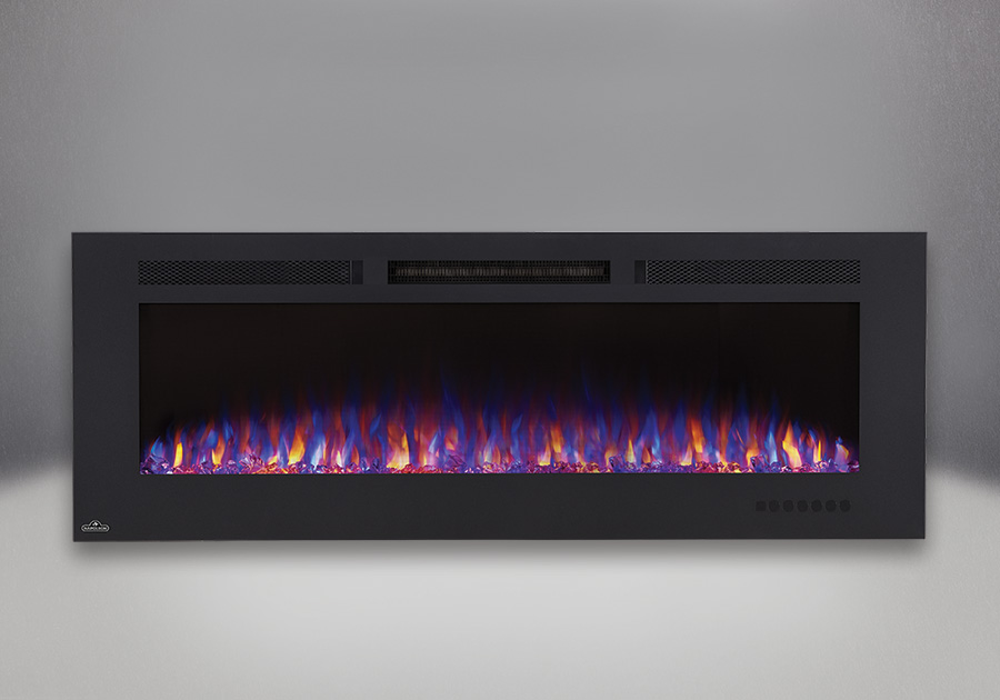 Allure<sup>™</sup> Phantom 60 with flames set on combined orange and blue