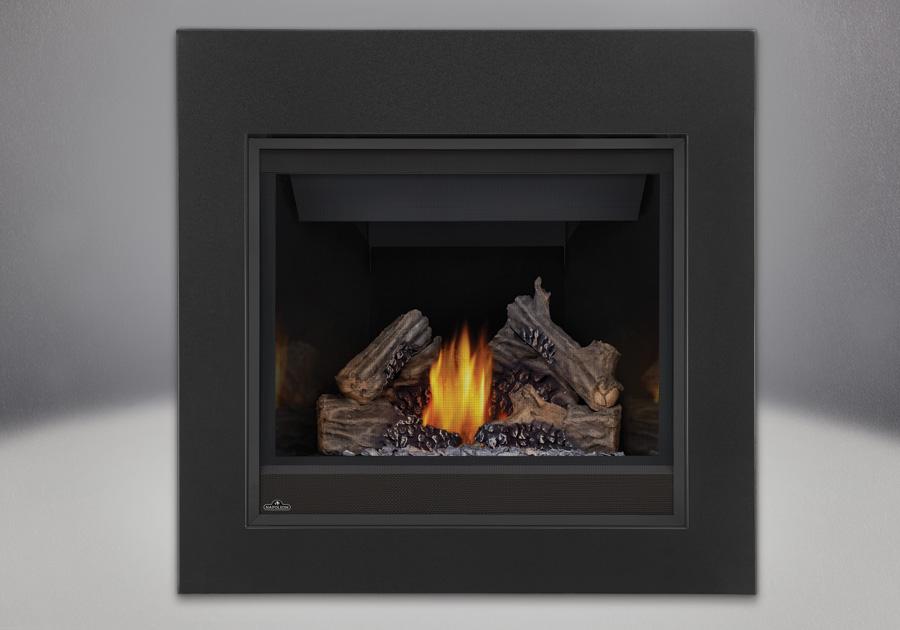 PHAZER<sup>&reg;</sup> Log Set, CFF Front, MIRRO-FLAME<sup>&trade;</sup> Porcelain Reflective Radiant Panels