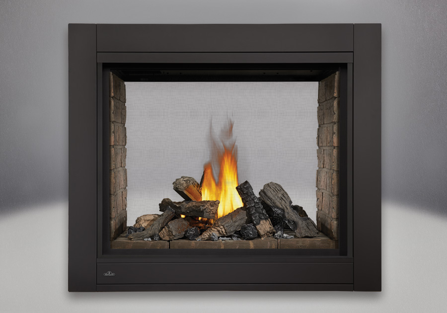 Electric Double Sided Fireplace - Fireplace Ideas