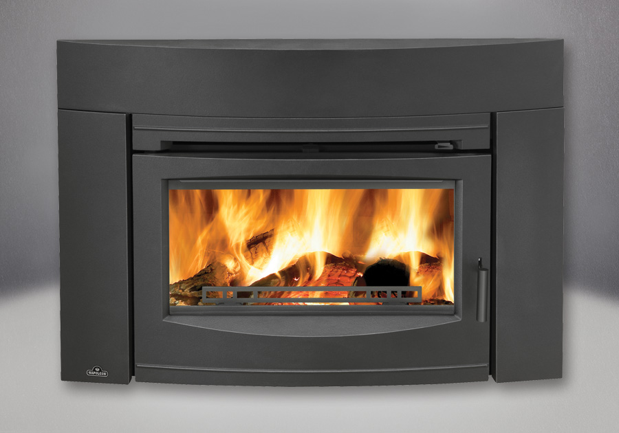 EPI3C With Contemporary Front, Painted Black Finish