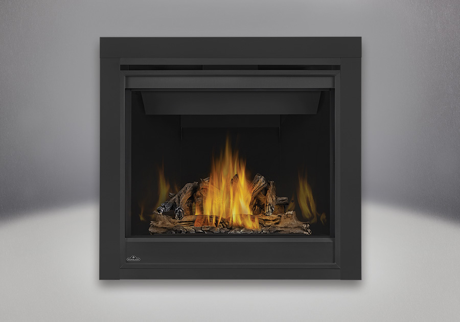 PHAZER<sup>®</sup> Log Set, MIRRO-FLAME<sup>™</sup> Porcelain Reflective Radiant Panels, 2