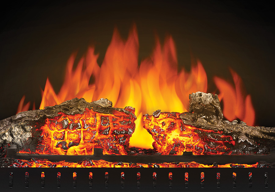 Natural Slow Dying Ember Bed