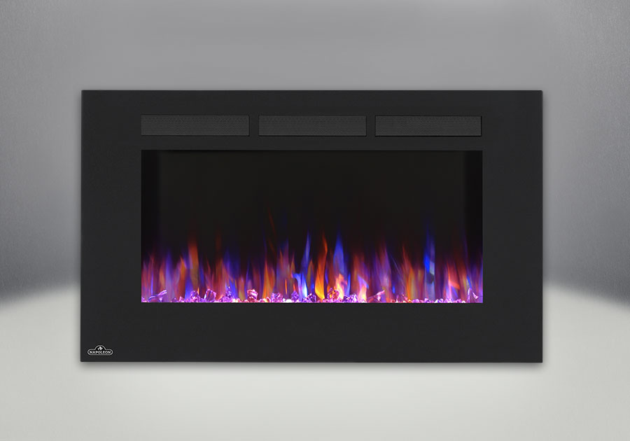 Comes with the Allure<sup>&trade;</sup> 42 Electric Fireplace