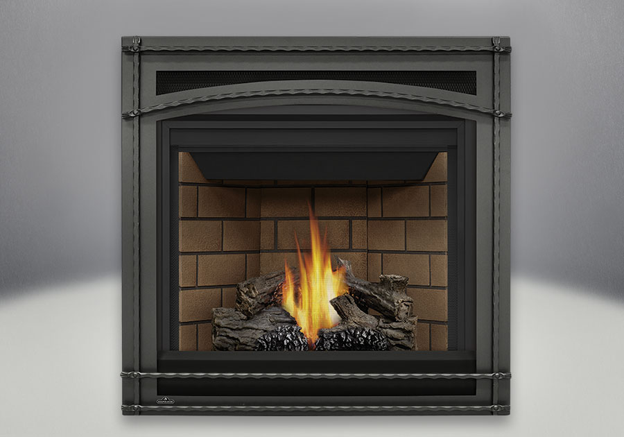The MEM mantel fits the Ascent<sup>™</sup> 35