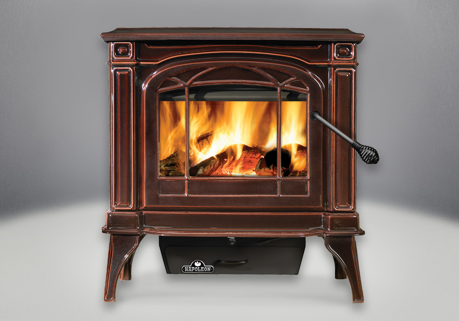 Fireplace Design wood burning fireplace with blower : Napoleon Banff 1100 Wood Stove | 1100C