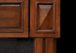 Solid Hardwood Decorative Side Columns