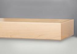 Shelf available separately